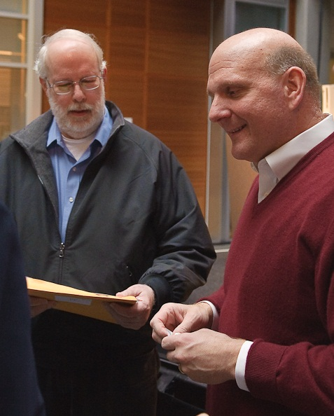 [2010 IMAGE OF Terry Gray and Steve Ballmer]