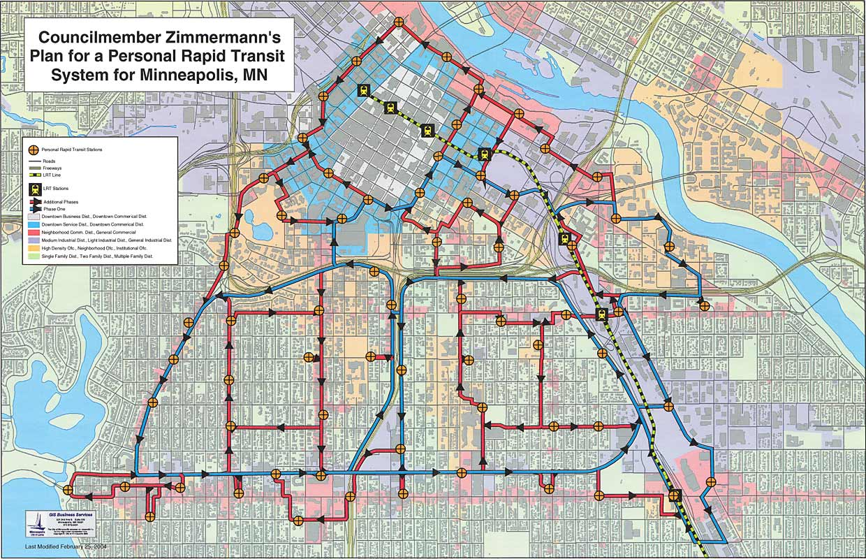 image relating to Minneapolis Skyway Map Printable titled Downtown Minneapolis Individual Quick Transit Community Strategy