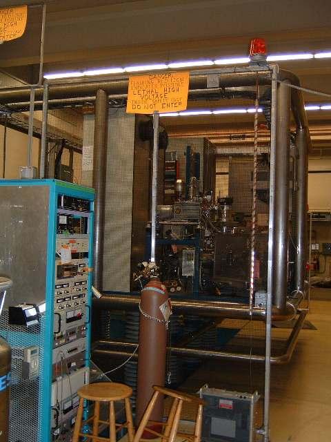 High Voltage Cage : Dick s workplace an mev tandem van de graaff accelerator