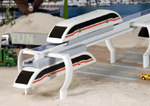 Maglev high speed ground transportation worldwide view and