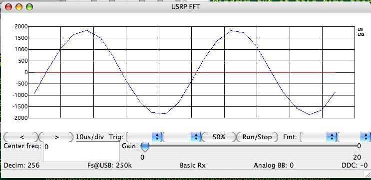 GNU Radio on Mac OS X: Using the USRP